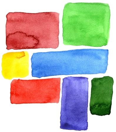 color image creativity: Resumen elaborado a mano acuarela de fondo, para los fondos y texturas