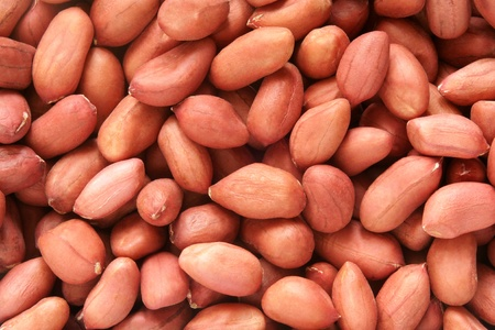 ground nuts: Peanuts, for backgrounds or textures