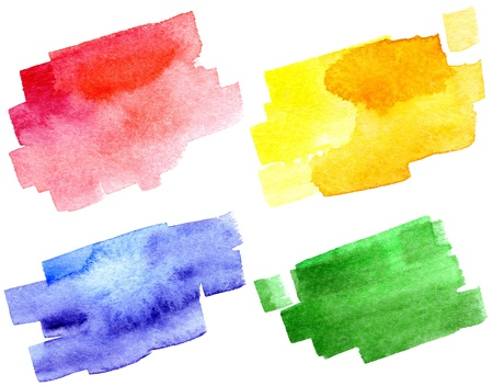 Abstract hand drawn watercolor background, for backgrounds or textures Stock Photo - 12499755
