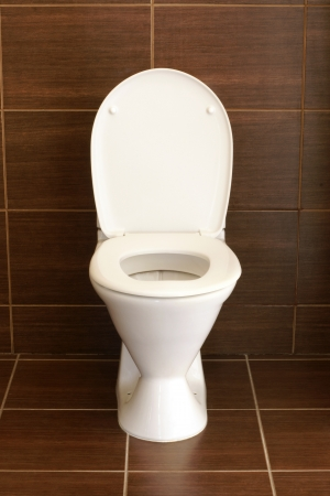 Toilet in the bathroom - a hotel room Stock Photo - 14072192