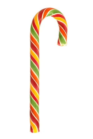 Traditional christmas candy isolated on a white background Stock Photo - 16331478