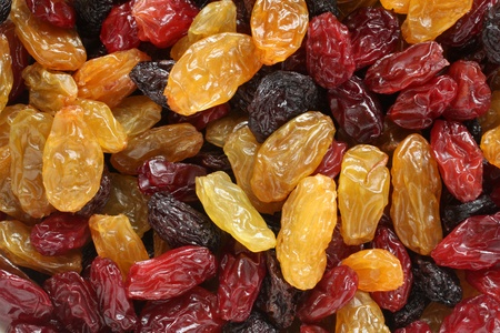 Raisins, for backgrounds or textures photo
