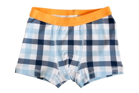 baby underwear: Childrens pants isolated on a white background