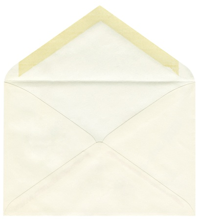Post envelope isolated on a white background Stock Photo - 18630185