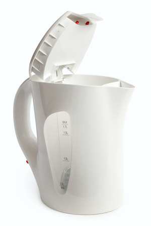 Electric kettle on a white  Stock Photo - 22685823