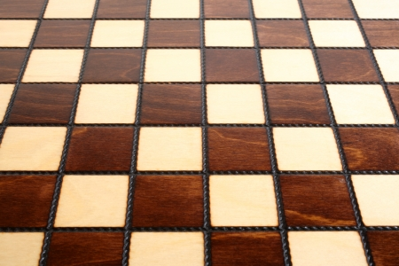 Wooden chess board, for backgrounds or textures Stock Photo - 23032623