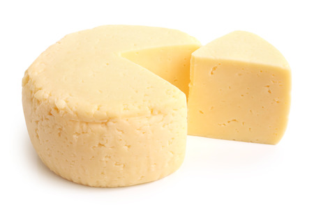 Cream cheese on a white background Stock Photo - 23032622