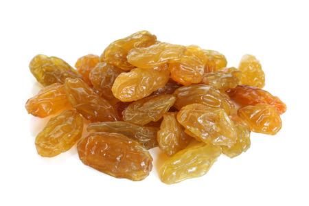 Raisins on a white background Stock Photo - 23283360