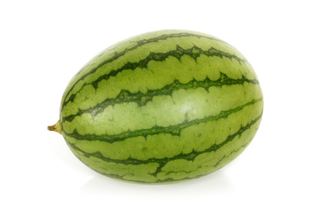 Watermelon on a white background photo