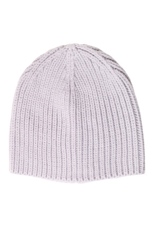 frost bound: Warm woolen knitted hat isolated on white background