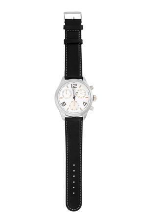 Horloge geïsoleerd op witte achtergrond