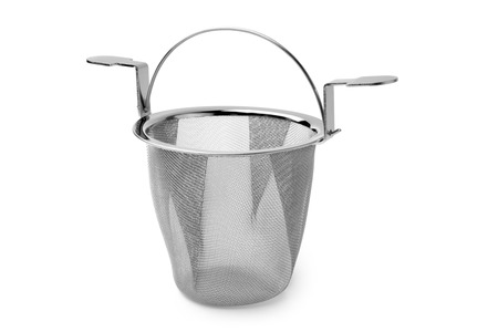 infuser: Tea infuser on white background