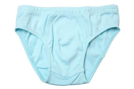 baby underwear: Children panties isolated on white background Stock Photo