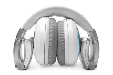 ear phones: Earphones on white background