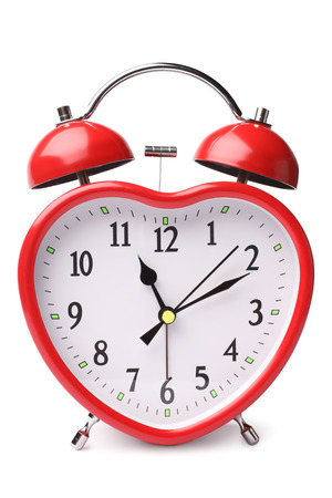 dialplate: Alarm clock on white background