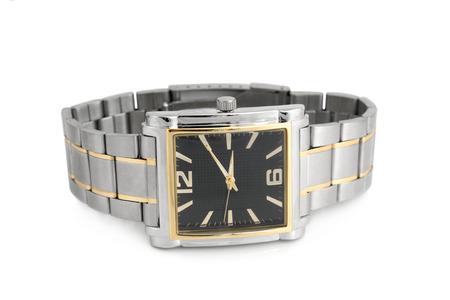wristwatch: Wristwatch on white background