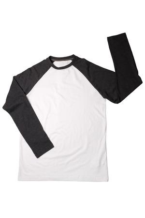 drycleaning: Shirt isolated on white background Stock Photo