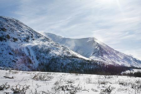alpine tundra: The Khibiny Mountains, a horizontal picture