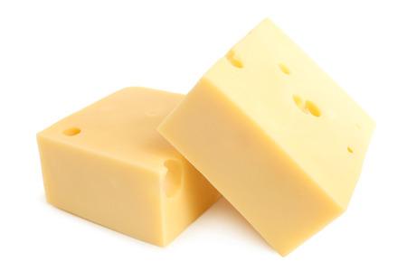 queso blanco: Queso en fondo blanco