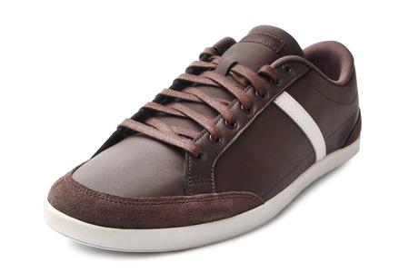 Sport shoe on white background photo