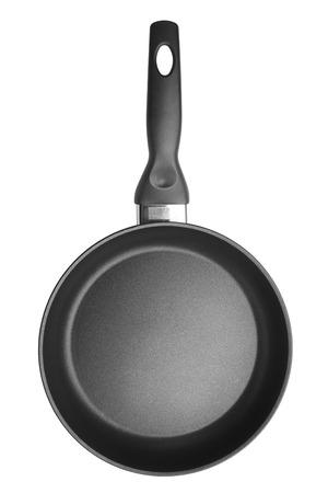 utencilios de cocina: Plancha aislado en fondo blanco