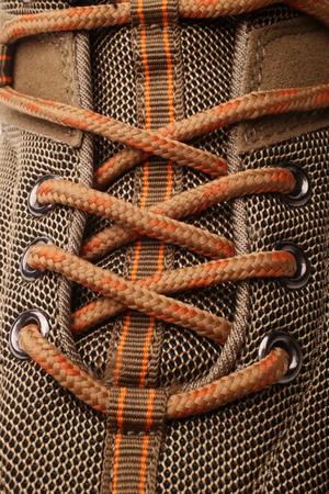encaje: Primer punto de vista de la bota, una imagen vertical