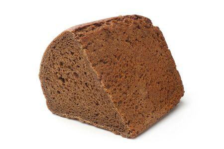 rye bread: Rye bread on white background