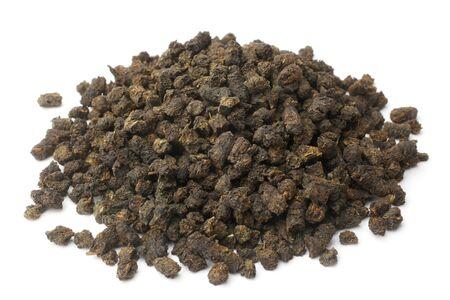 angustifolium: Chamerion angustifolium, fermented ivan tea on white background Stock Photo