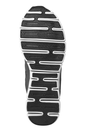 rubber sole: Shoe sole isolated on white background
