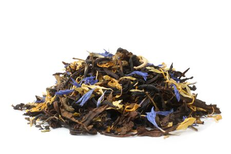 fireweed: Fireweed tea on white background