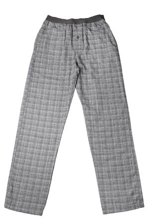 striped pajamas: Pajamas pants for men isolated on white background