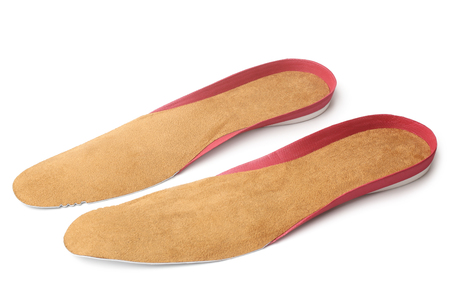 insoles: Insoles for shoes on white background