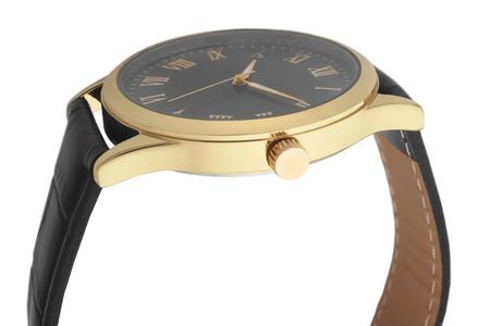 wristwatch: Wristwatch isolated on white background Stock Photo