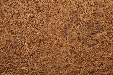 Dry coconut fiber, for backgrounds or textures
