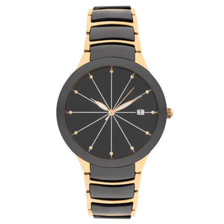 Wristwatch isolated on white background Stock Photo