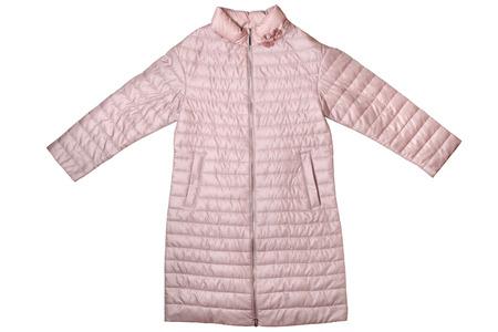 Female coat isolated on white background
