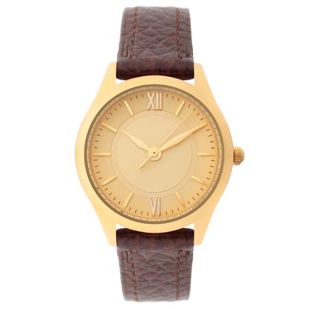 Wristwatch isolated on white background Reklamní fotografie