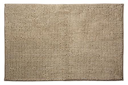 Bathroom rug isolated on white background Reklamní fotografie