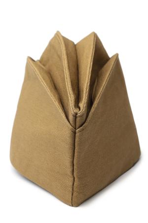 Military field cap on white background Reklamní fotografie