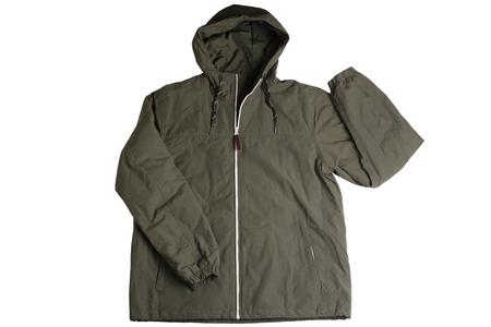 Male autumn jacket isolated on white background
