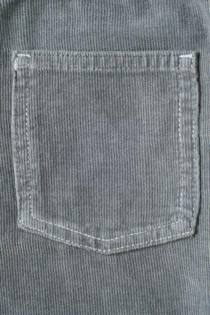 Closeup of hip pocket, vertical picture 免版税图像