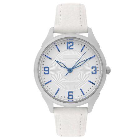 Montre-bracelet isolé sur fond blanc