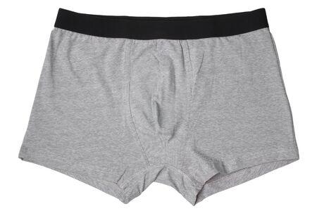 Male underwear isolated on white background Stock Photo