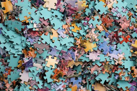 Pieces of a puzzle, for backgrounds or textures