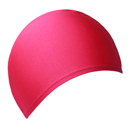 Swimming hat isoated on white background