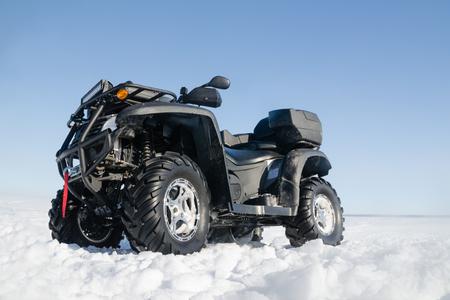 quad: quad bike Stock Photo