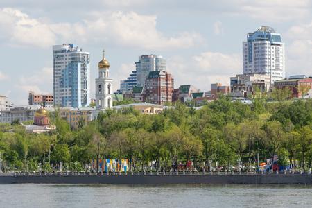 volga river: City of Samara with the Volga river