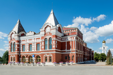 building of the drama theater in Samara