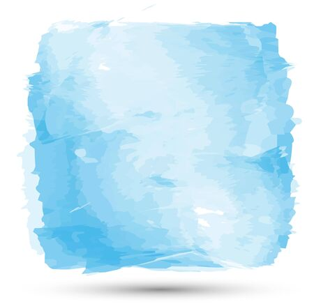 business backgound: Hand drawn Watercolor blue background