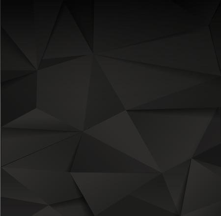 Negro fondo de papel facetas Resumen